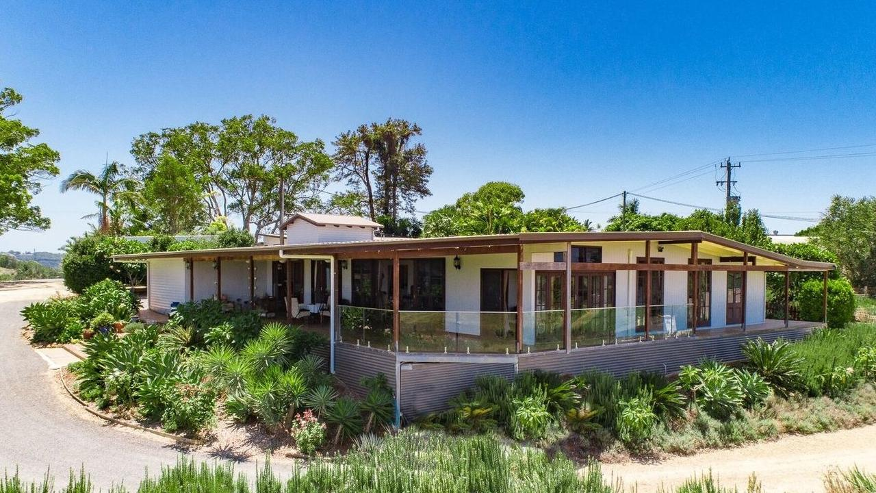 Various dwellings make this Duranbah property a dream for a large, extended family.