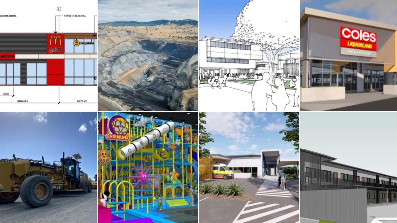 There are more than 31 projects penned to go ahead in Mackay in 2021.