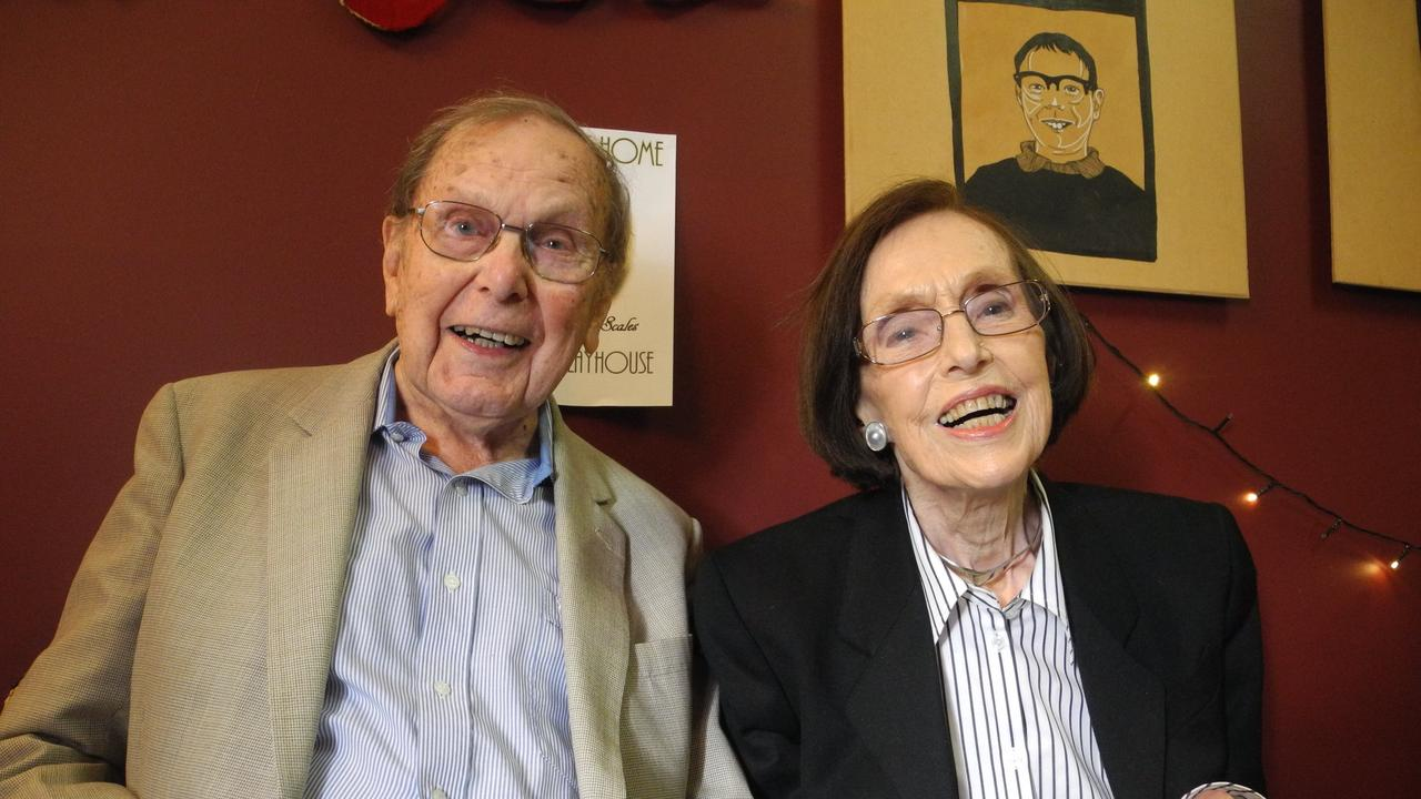 Bill and Pat Scales, some of the founding members of the Pelican Playhouse. Photo Marco Magasic / Daily Examiner