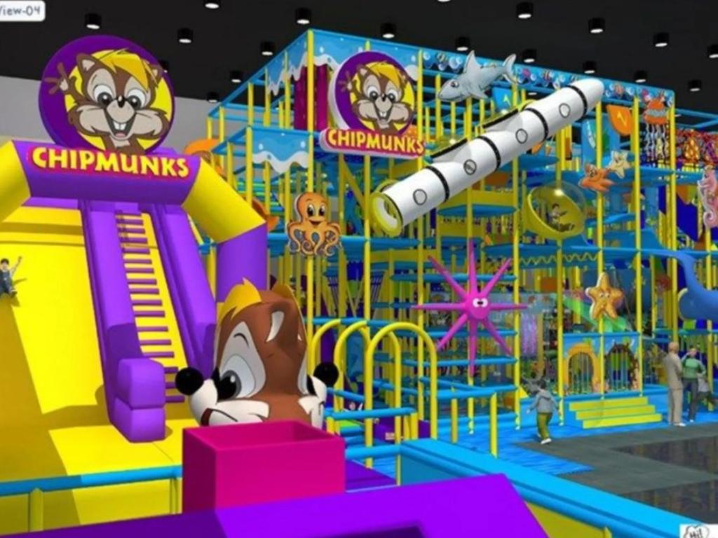 The Chipmunks Playland store at McGregor is similar to what the Mackay centre will look like. Picture: Contributed
