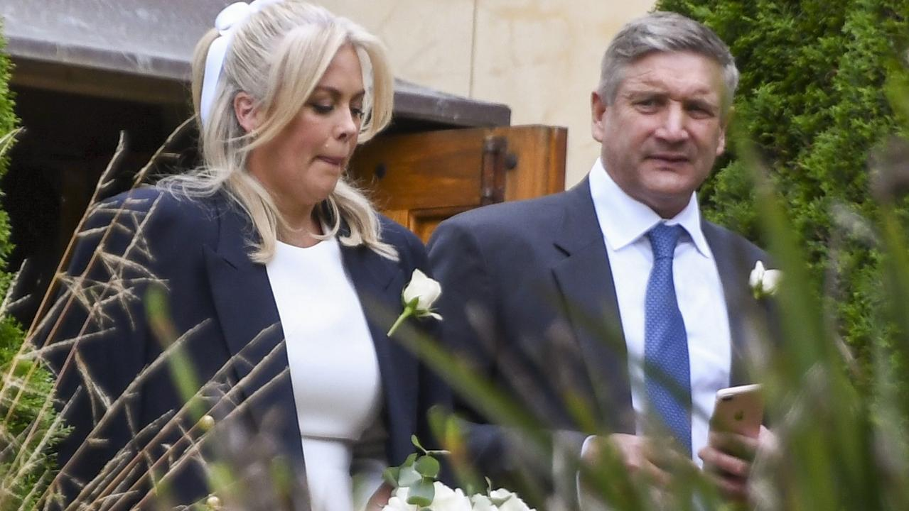 Sunrise host Sam Armytage has shared a stunning photo from her romantic New Year's Eve wedding to millionaire businessman Richard Lavender.