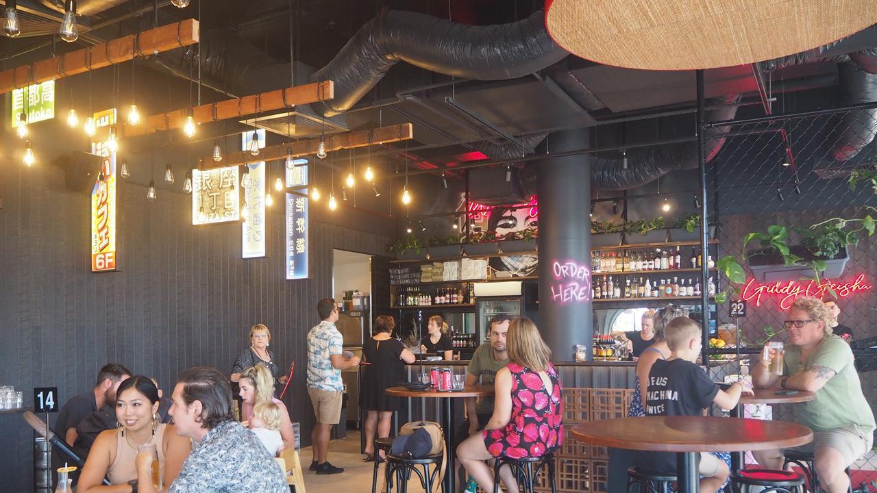 Sunshine Coast restauranter Tony Kelly opened Giddy Geisha at the Maroochydore CBD on January 2.