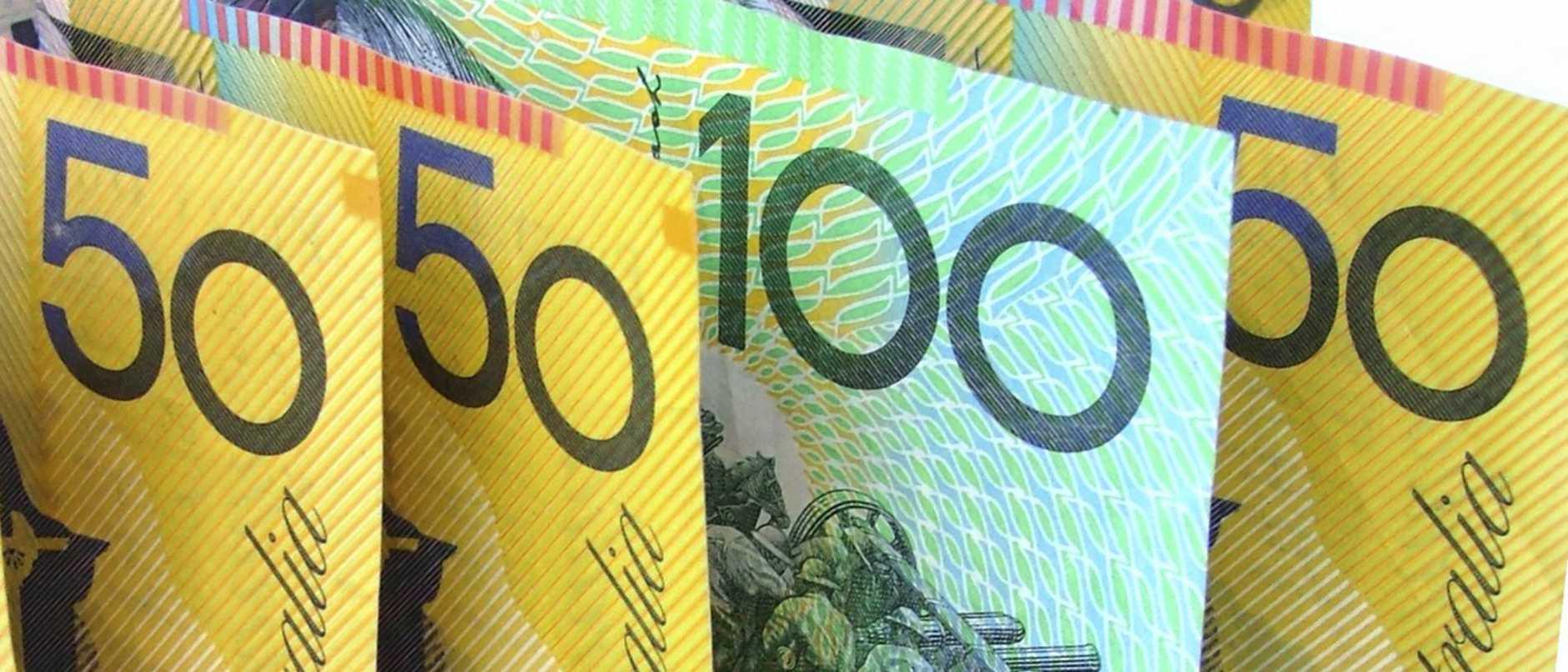 Australian money / cash / notes