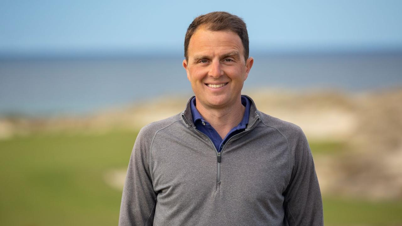 Golf course Superintendent Brian Palmer is responsible for Tara Iti Golf Club's top-tier grounds. Picture: Contributed