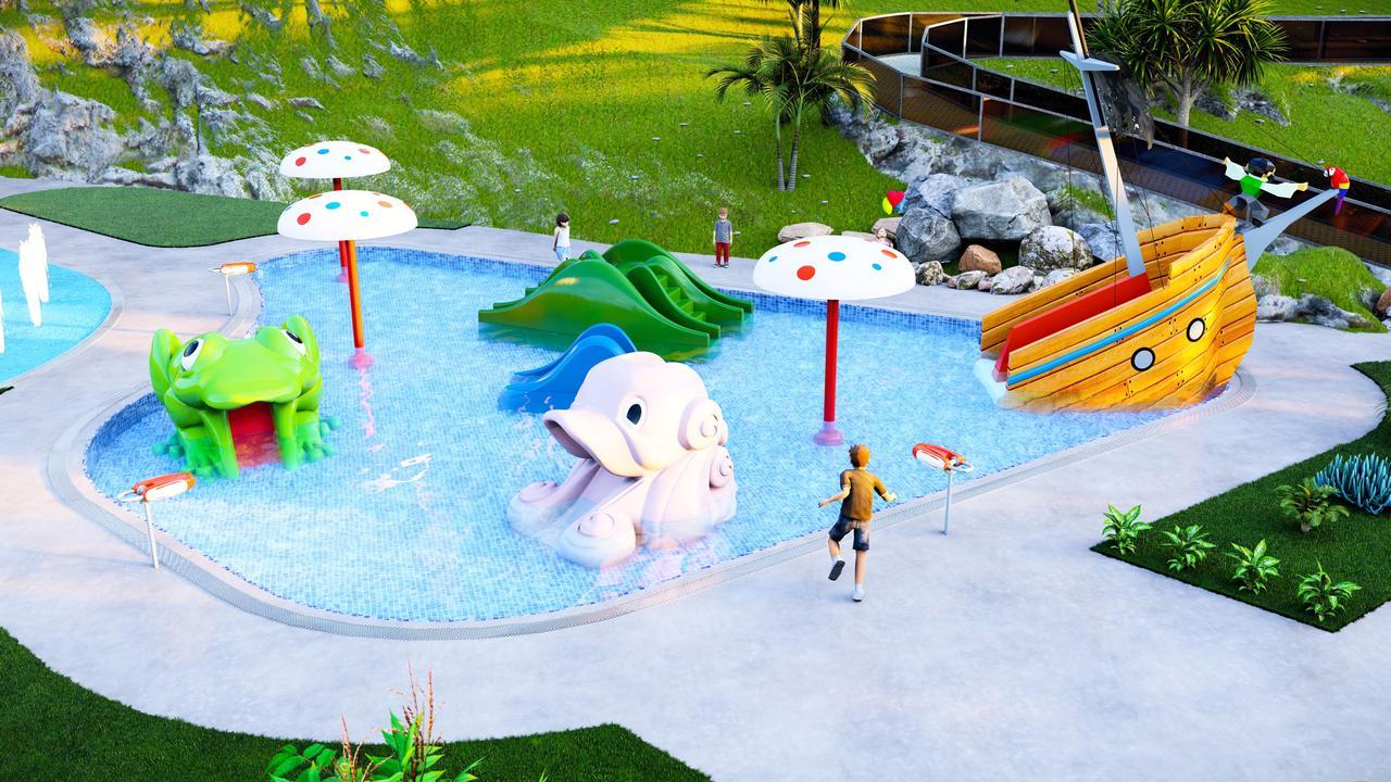 Proposed design from Swimplex Aquatics.