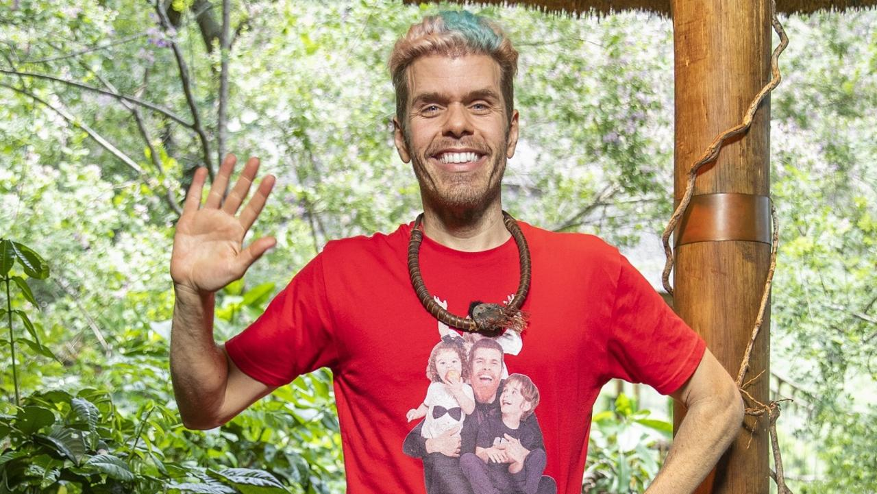 Perez Hilton on I'm A Celebrity … Get Me Out Of Here! Picture: Ten