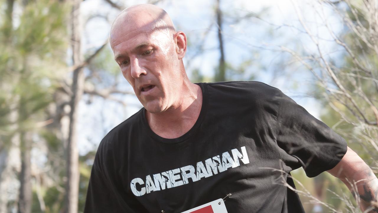 Ryan Crawford ran more than 10,000km in 2020. Picture: Mick O'Brien