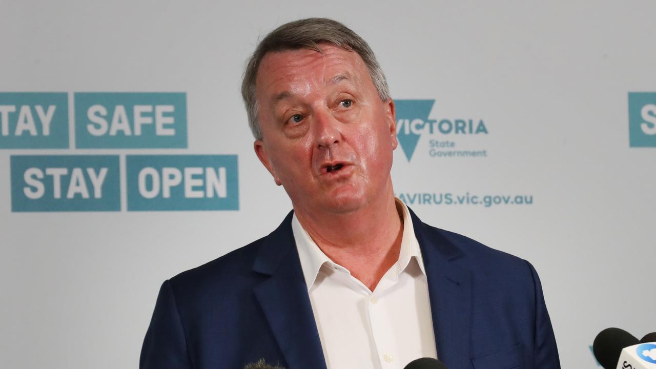The Minister Health, Martin Foley. Picture: NCA NewsWire/ David Crosling