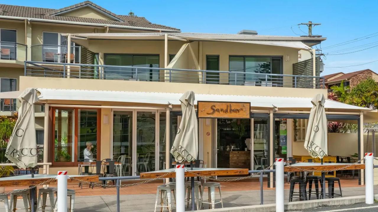 Sandbar cafe in Yamba – business for sale