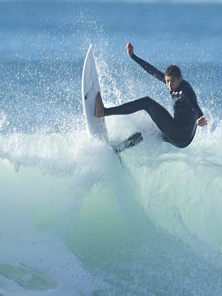 Luddy Reynolds was a talented surfer, skater and boxer. Picture: Facebook