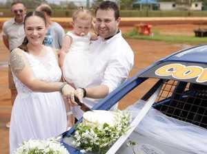 M'boro woman ties knot at event held in brother's memory