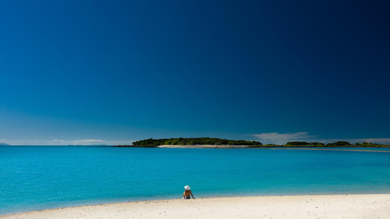 Victor Island in the Whitsundays is for sale. Image supplied.