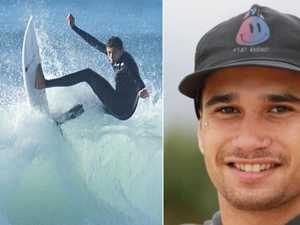 Friends pay tribute to great surfer with 'infectious' smile