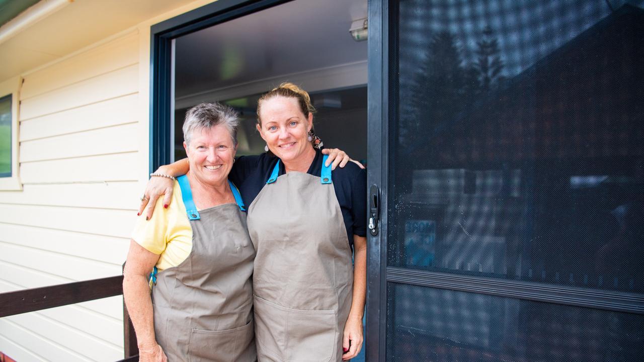 New operators of the Brooms Head Snak Shak Rhondah and Tameeka Gillespie.