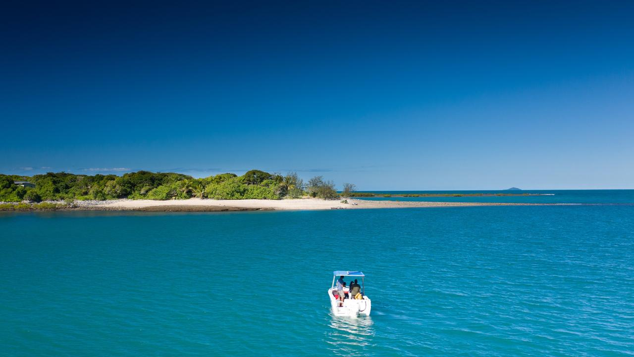Victor Island is only a 15 minute boat ride to the mainland and a six minute helicopter ride from Mackay Airport. Image supplied.