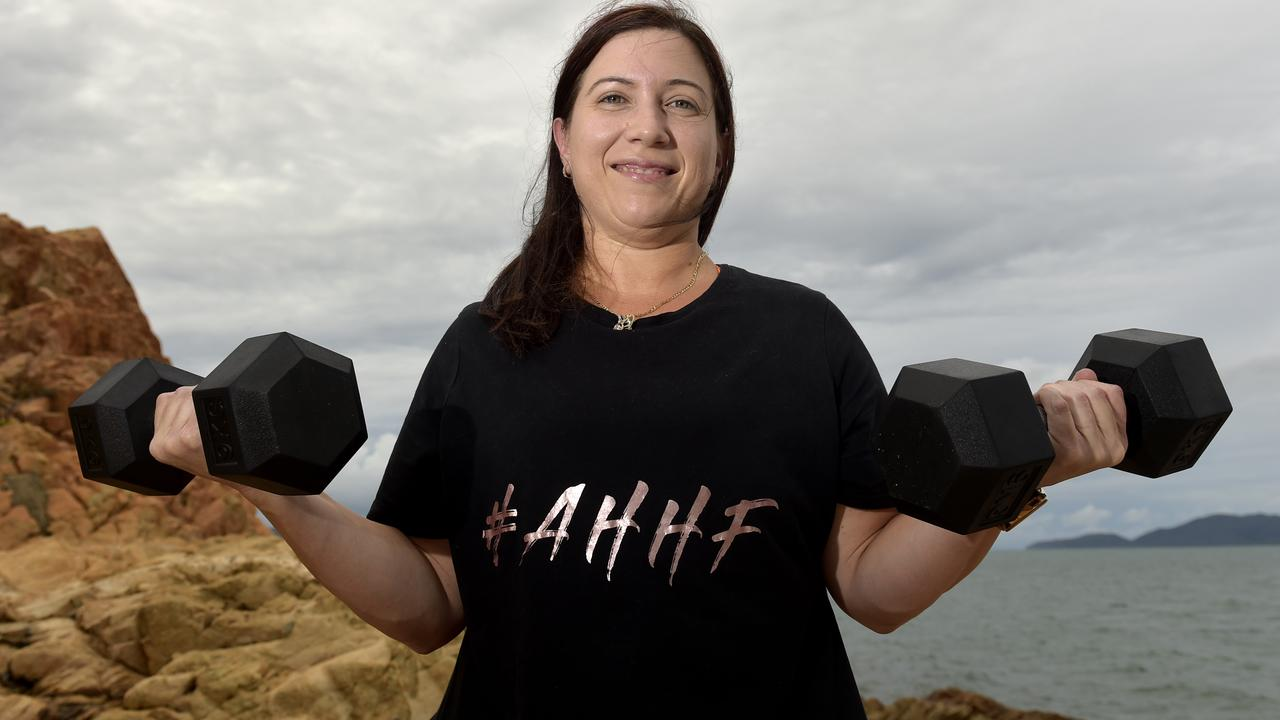 Katrina Lauder has lost 50kg and is hoping to lose more to reach her goal weight. PICTURE: MATT TAYLOR.