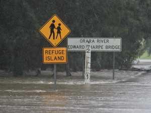 Flood watch for Orara River ahead of expected heavy rain
