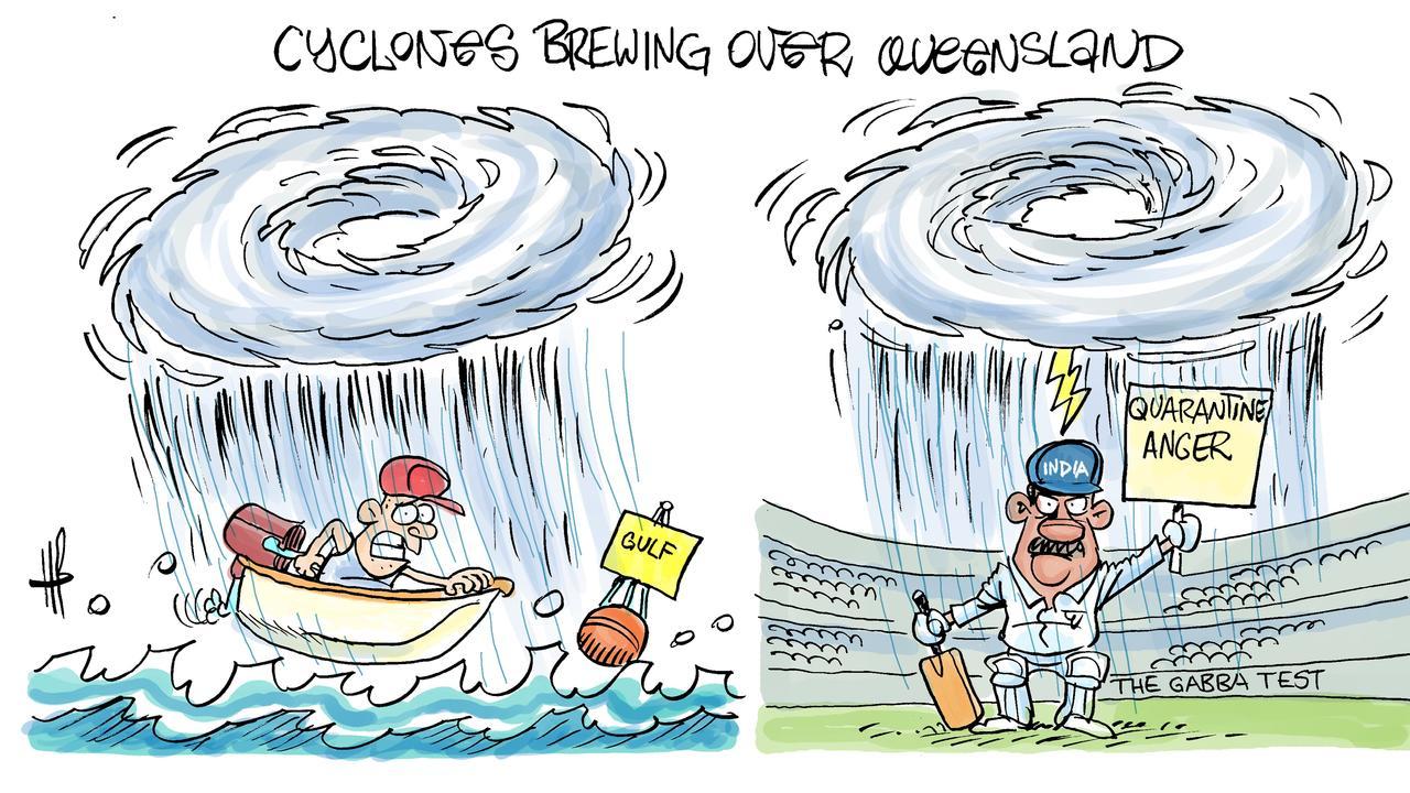 Harry's view on cyclone season.