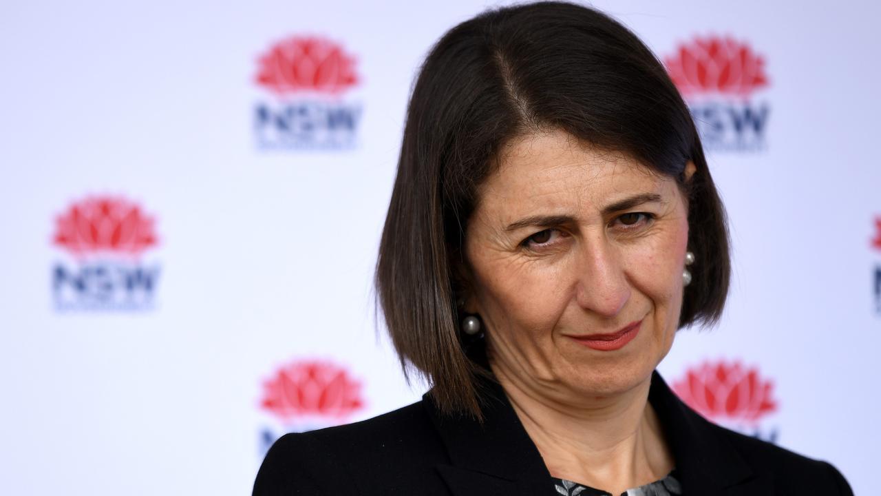 NSW Premier Gladys Berejiklian. Picture: Bianca De Marchi