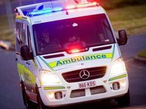 Man injured in single vehicle crash at Bowen