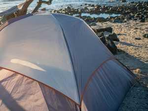 'Radioactive sand' closes popular island campsite
