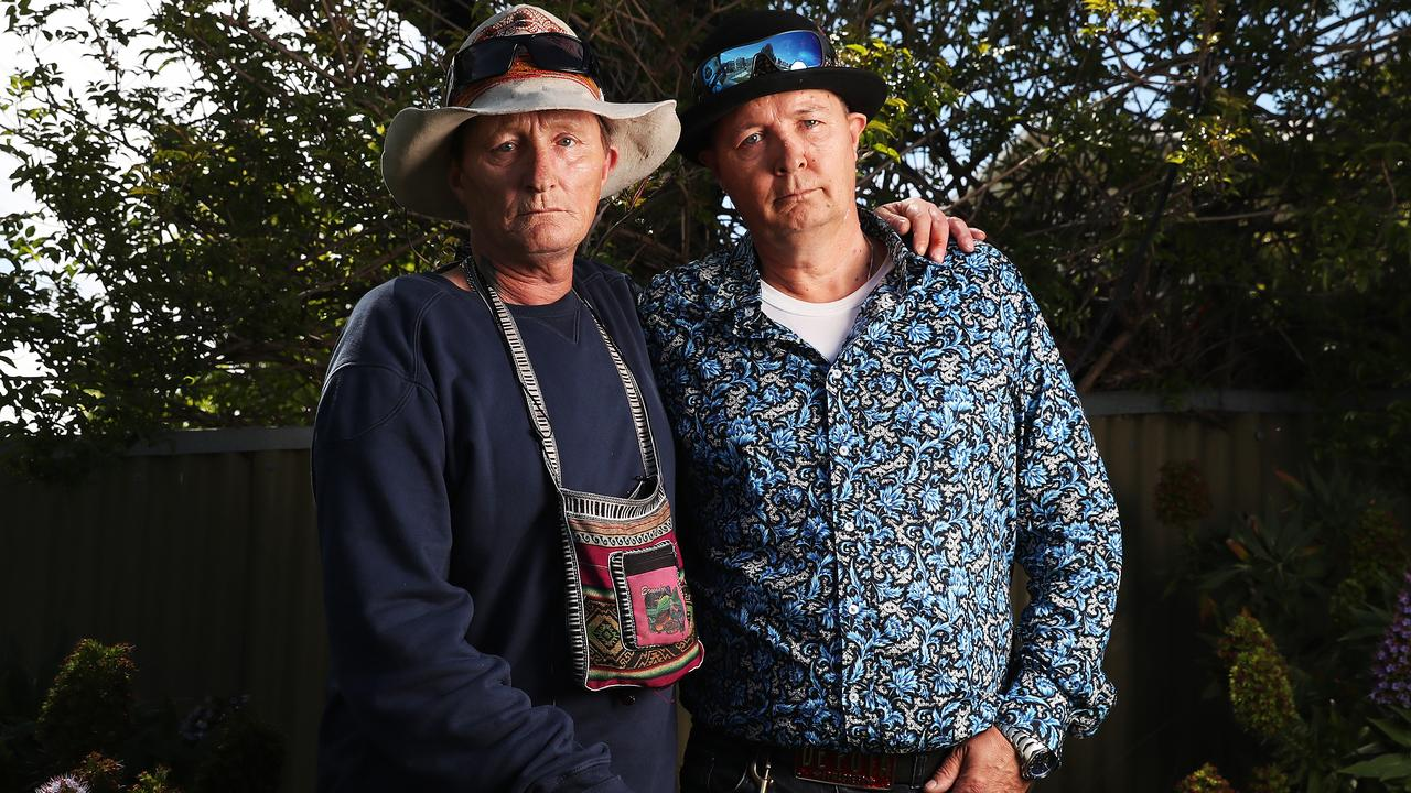 Daryn Guest and his brother Tim Peardon were students at Warrane Primary School in the 1970s. Picture: NIKKI DAVIS-JONES