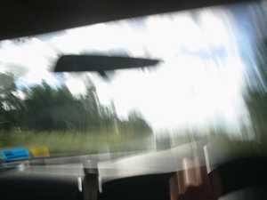 Alleged dangerous driver on return to prison warrant
