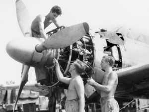 Flashback: Mackay RAAF member's overhaul of enemy aircraft