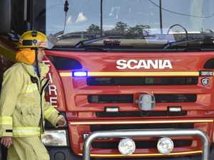 Fire crews tackle after-dark shed fire at Woorabinda