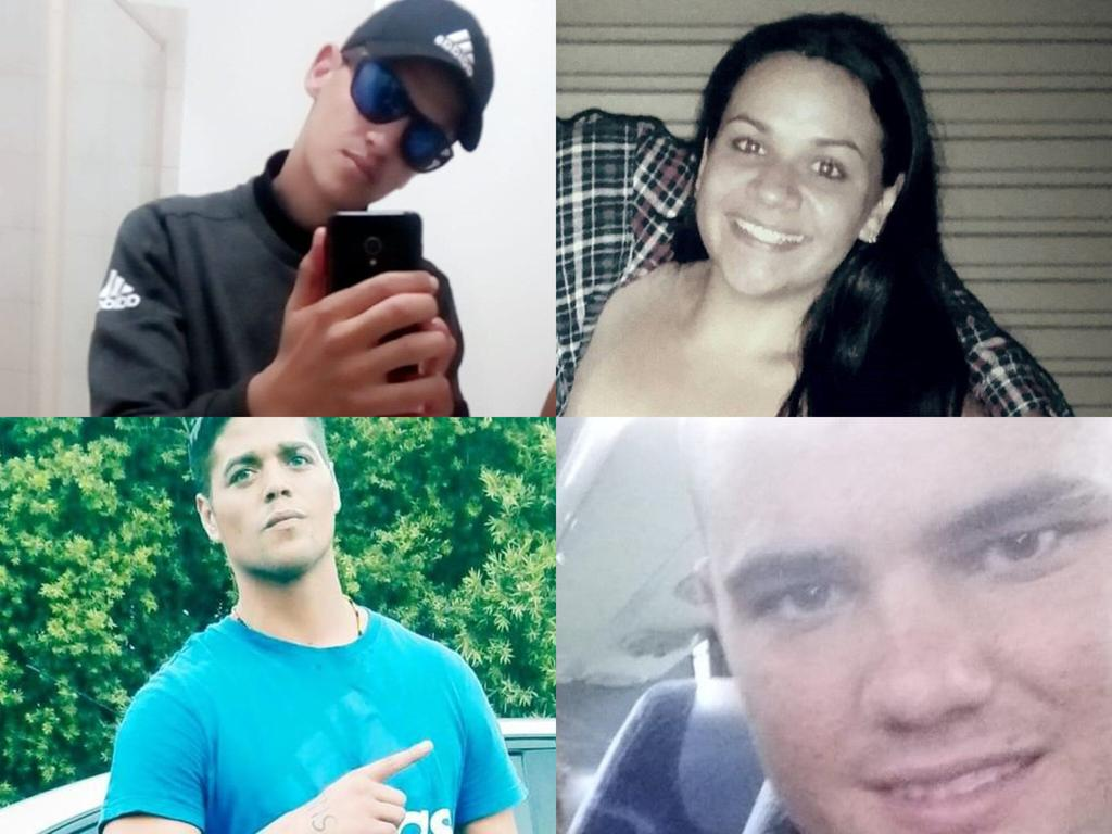 Southwest Queensland's fresh faced offenders of 2020. PIC: Social media