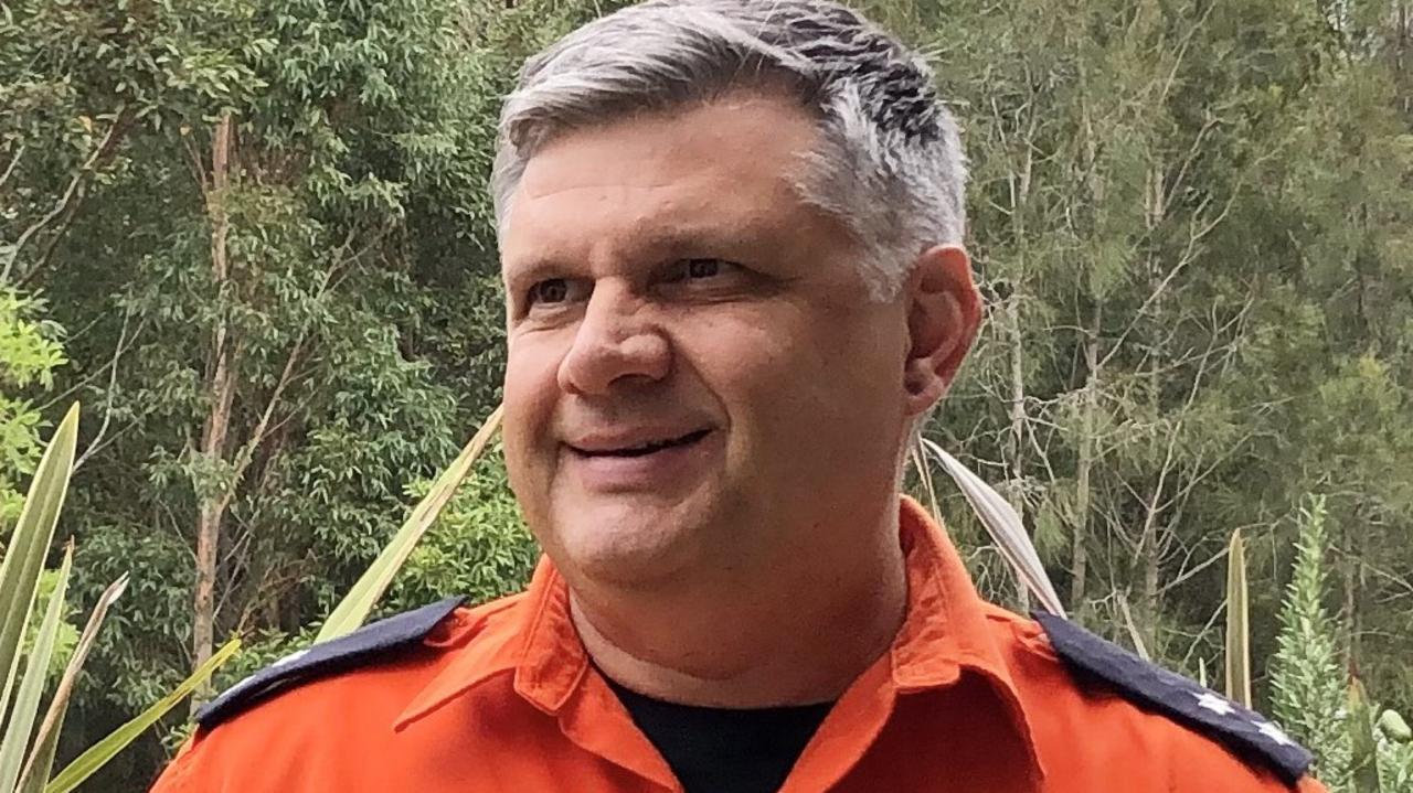 Coffs Harbour SES deputy unit commander Martin Wells.
