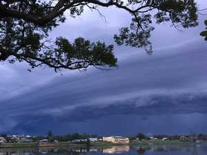Severe thunderstorm warning issued for this afternoon