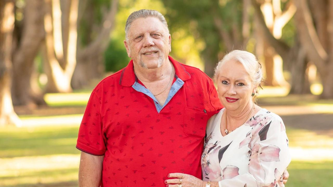 REST IN PEACE: Robert and Glenda Pascoe at her 60th birthday celebration. Pic: Supplied