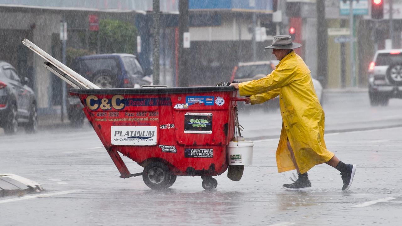 Ex-cyclone Imogen is forecast to bring heavy rain to the Mackay region.