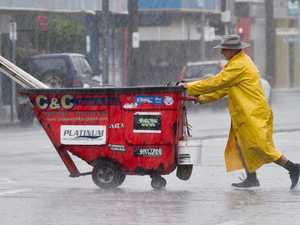 DRENCHED: Ex-cyclone to mix with wind surge for heavy rain