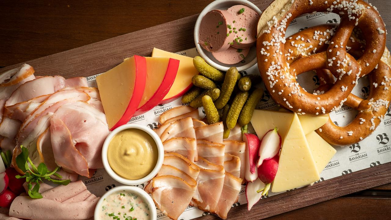 90-minute challenge: All-you-can-eat meat and cheese board is available during January. Picture: Contributed