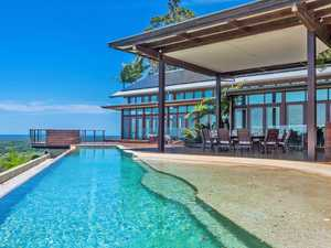 Off the grid Byron home has epic views and rainforest