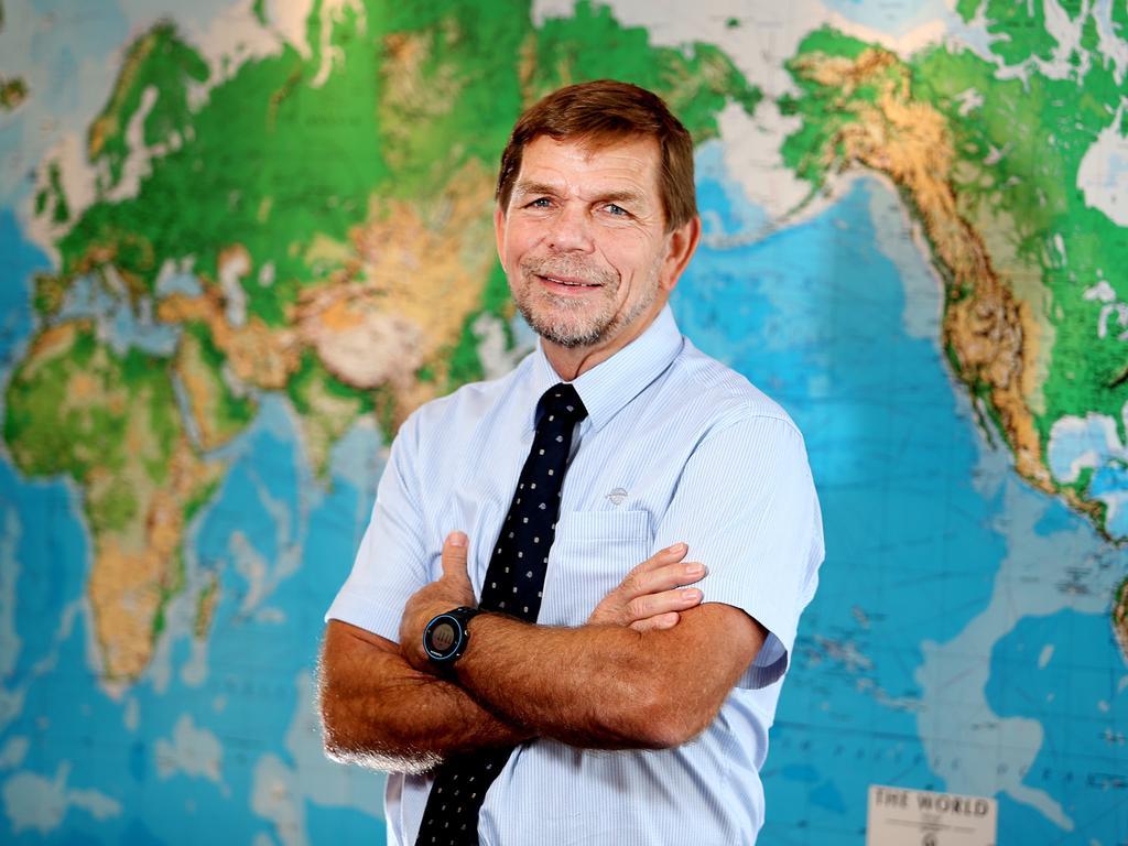 """Brisbane-based Flight Centre CEO Graham """"Skroo"""" Turner"""