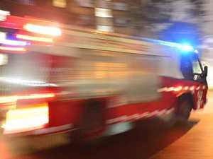 Fire crews respond to blaze inside stormwater drain