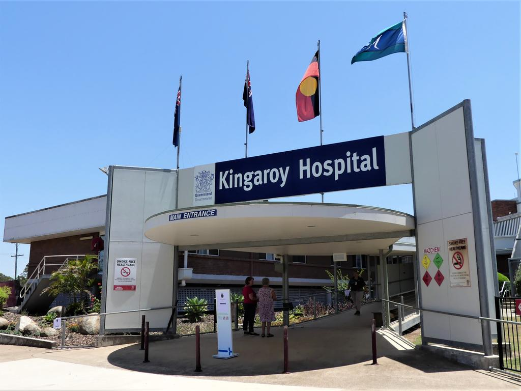 Kingaroy Hospital are taking extra measures to keep the community COVID safe amid recent outbreaks across the east coast. Photo/Holly Cormack.