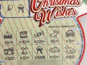Ipswich mum's $25,000 Christmas joy