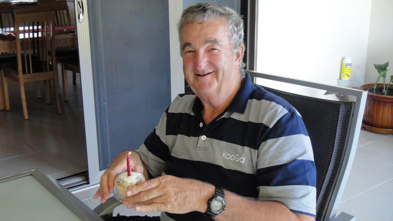 Rockhampton legend Geoff Barton OAM.