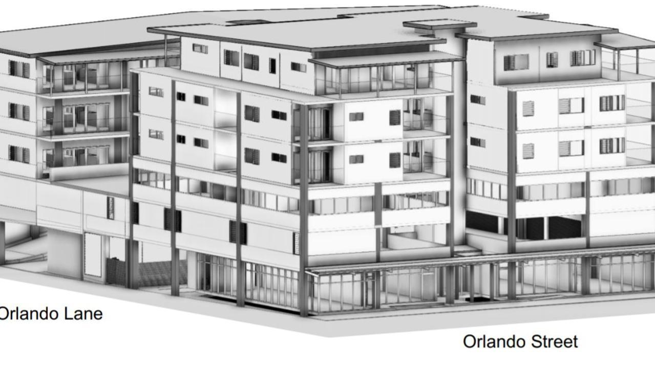 The design concept of Orlando Lane Apartments.