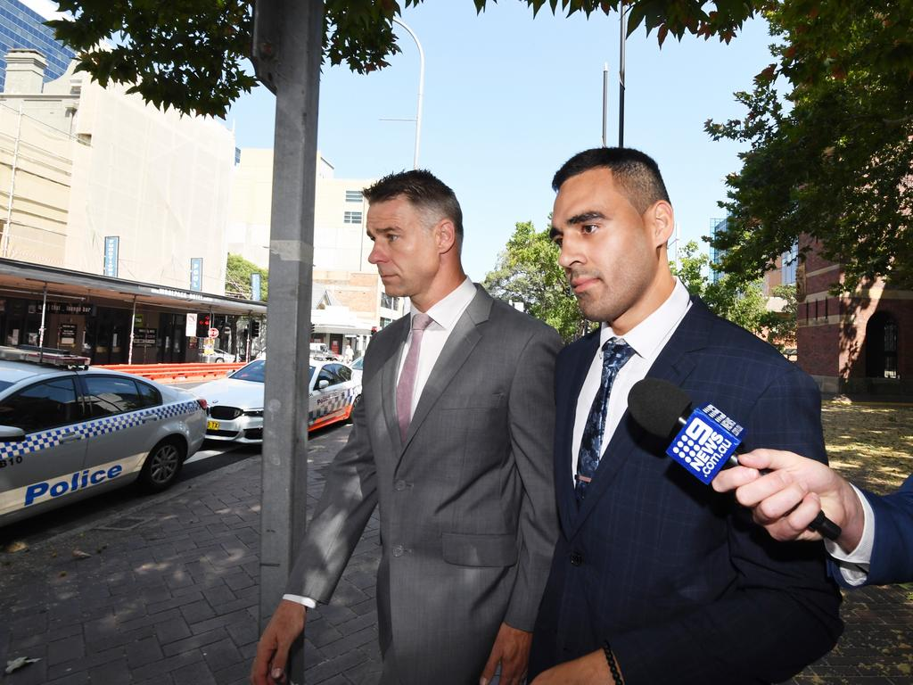 Tyrone May narrowly escaped being sent to jail. Picture: AAP Image/Peter Rae.