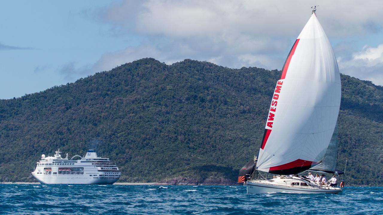 Cruise ships could return to the Whitsundays in a matter of months. Picture: Shirley Wodson Photography