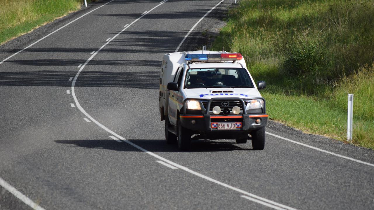 A 49-year-old motorcycle rider has copped a massive fine and lost 13 demerit points after he was caught speeding in North Mackay.