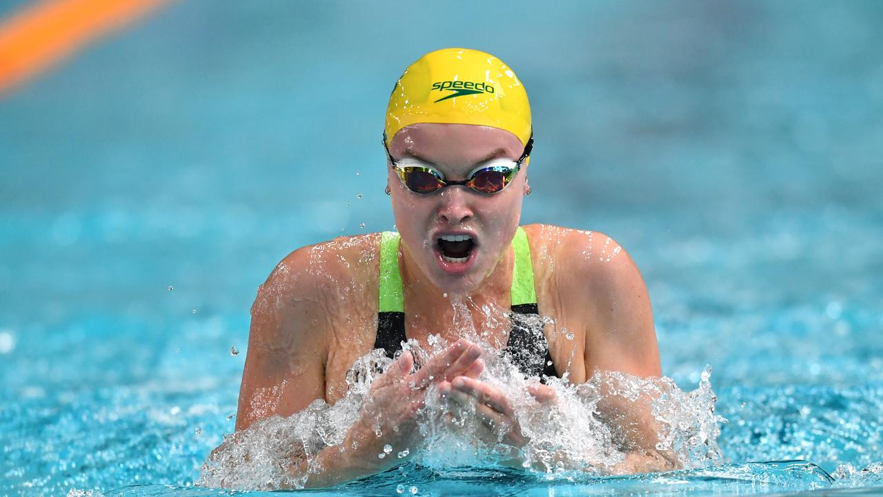 Australian swimmer Georgia Bohl in action. Picture: Darren England