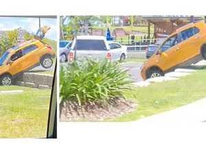 Motorist's parking mishap at Yeppoon Lagoon