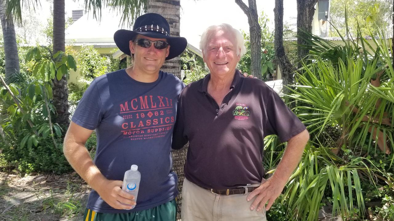 Adam and John Lever from Koorana Crocodile Farm.