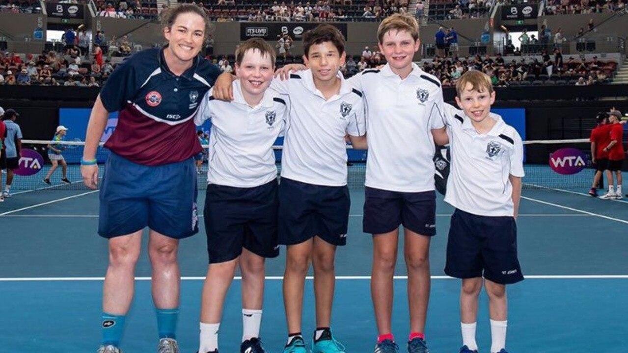 2020 Brisbane International Schools Challenge State Finals - green balls team.